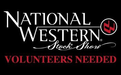 Volunteers Needed @ National Western Stock Show