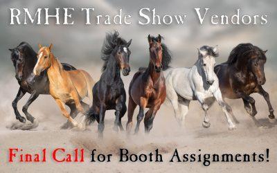 Final Call for Trade Show Vendors